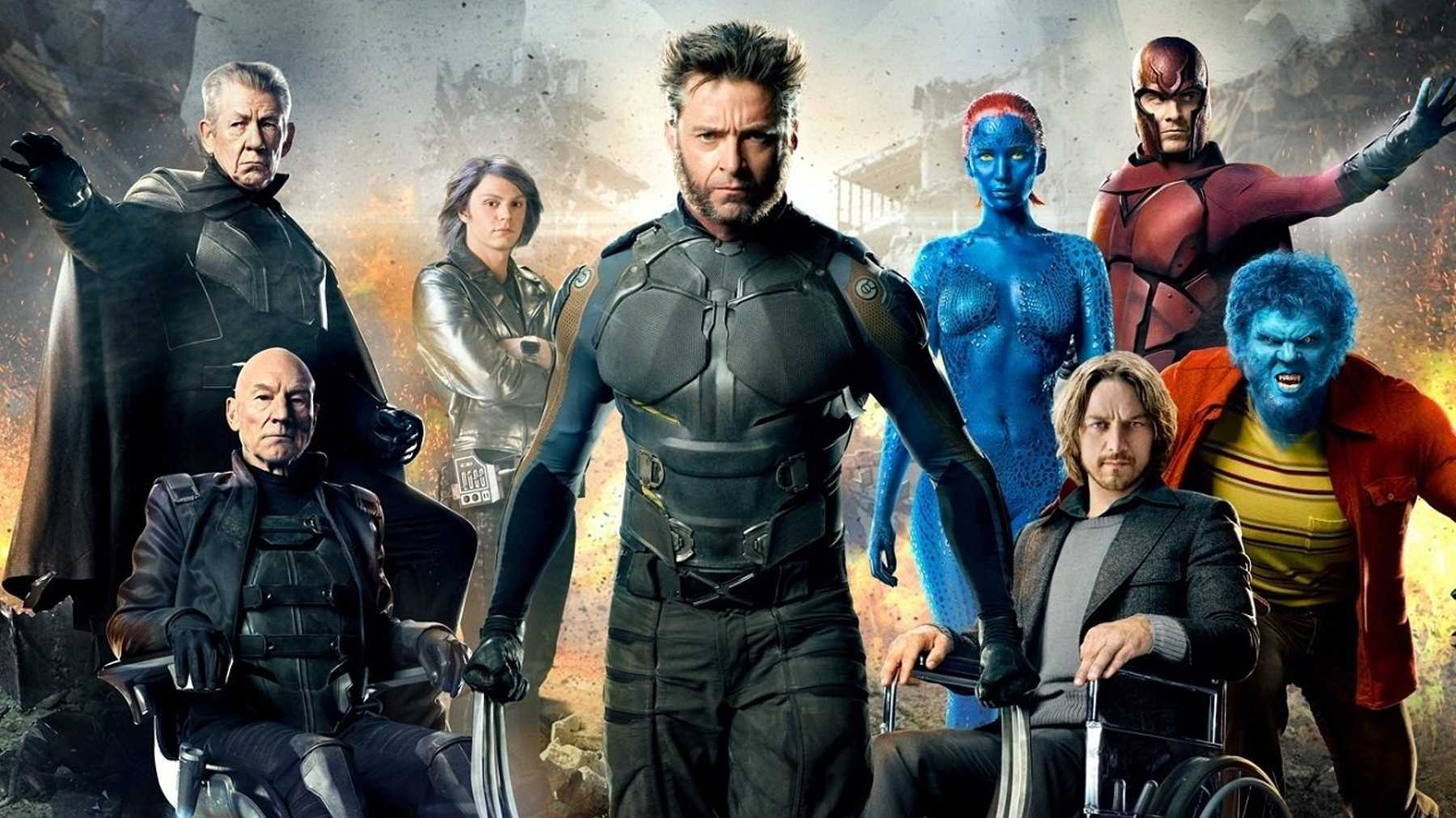 X Men: Complete Movie Series Hollywood Movie [Dual Audio] [Hindi or English] x265 AAC ESubs [800MB]